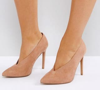 Zapatos de tacón beige cálido T. 37