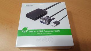 Adaptador VGA a HDMI 1080P