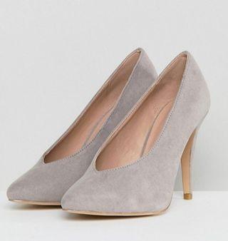 Zapatos de tacón gris T.37