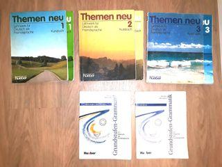 Libros Curso Aleman Themen Neu 1 2 y 3