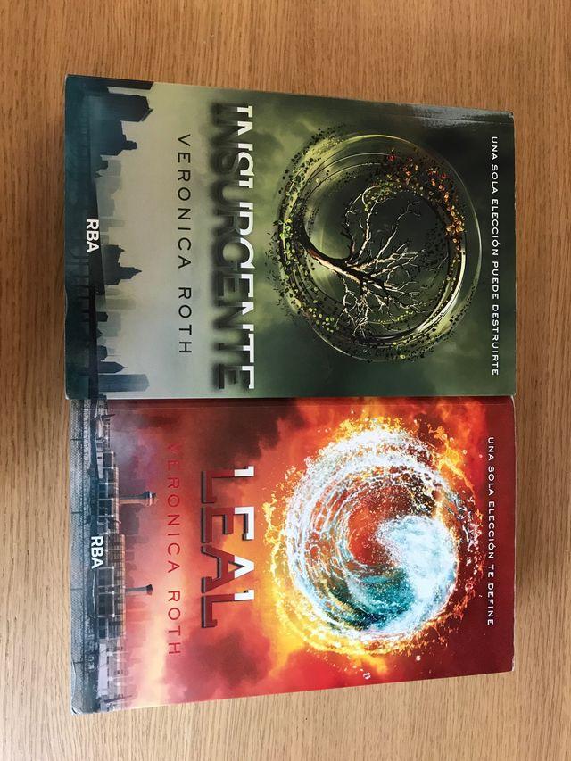 c51eeefa00 Libros: insurgente y leal: saga divergente n°2 y 3 de segunda mano ...