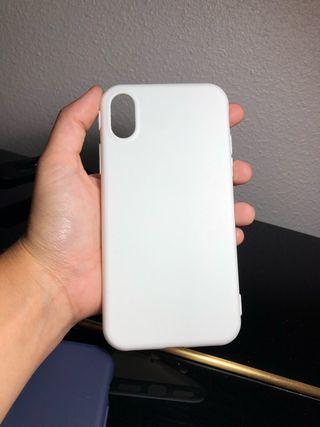 Funda Iphone X blanca