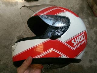casco moto Shoei X8 R replica Eddie Lawson.
