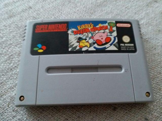Juego Kirby Dream Course Snes Super Nintendo De Segunda Mano Por 25