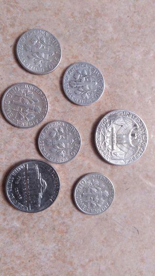 monedas plata de estados unidos