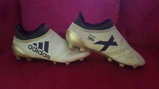 Botas de fútbol Adidas XTchfit. Número 39 1/2