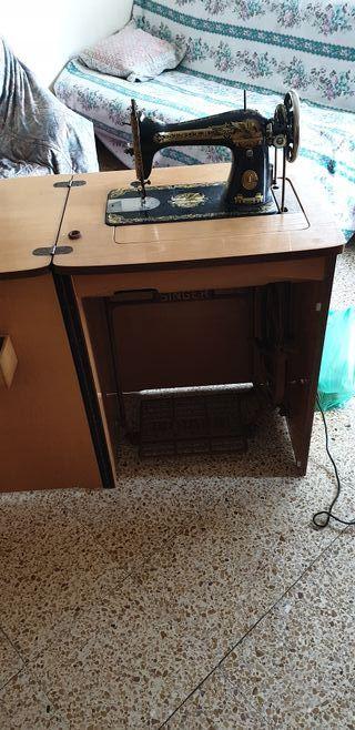 máquina singer antigua