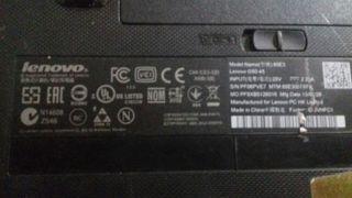 pc portátil lenovo Windows 10