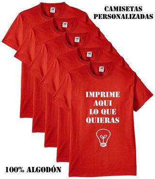 Camisetas personalizadas - serigrafía