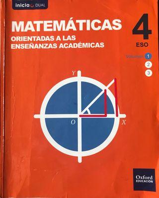 Libros de Matemáticas Académicas.
