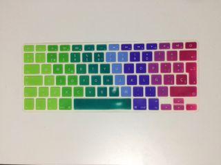 Funda teclado MacBook de silicona