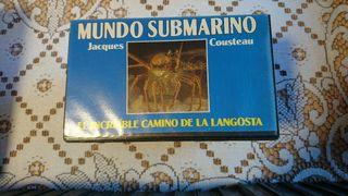 VHS Mundo Submarino Cousteau