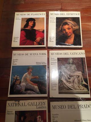 Grandes museos del mundo coleccion completa 7 tomo