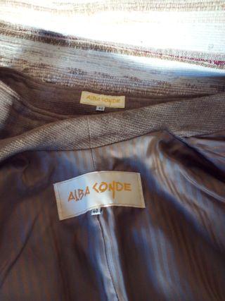 Traje chaqueta Alba Conde