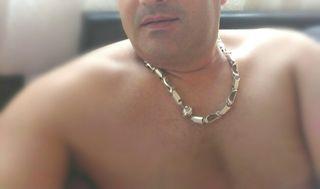 Cadena Plata Hombre