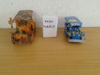 2 TAXI-BUS. UNO DE HOJALATA FILIPINAS OTRO METAL