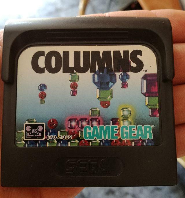 Juego Columns Tipo Tetris Game Gear Gamegear Sega