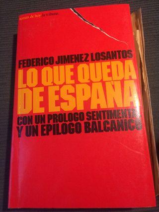 "Libro ""Lo que queda de España"""