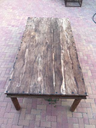 Mesa grande madera maciza