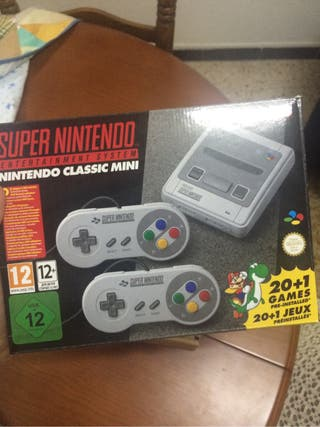 Super Nes Nintendo Mini