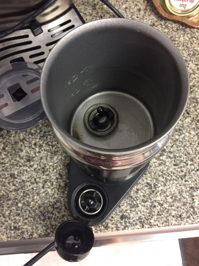 Espumador de leche nespresso