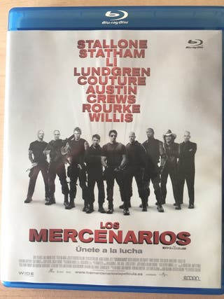 BLURAY LOS MERCENARIOS