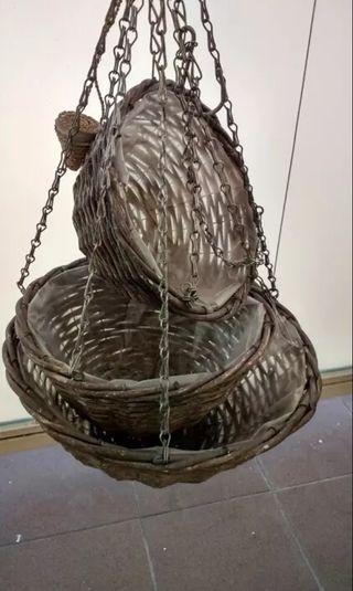 cestas para plantas colgantes
