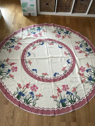 Manteles mesa redonda