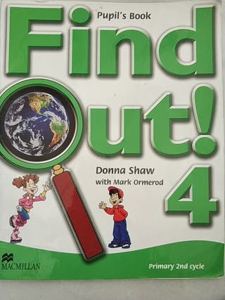 Find Out! 4 Pupil's book