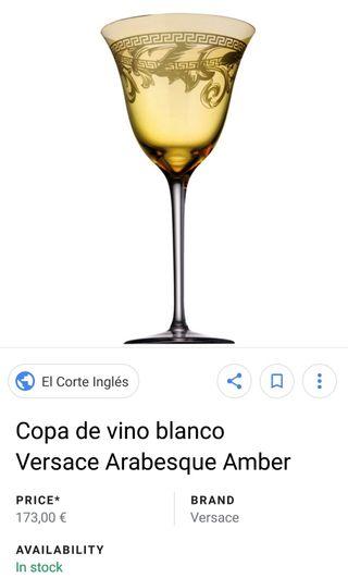 Copas VERSACE.