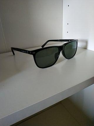 Gafas de sol Ermenegildo Zegna negro polarizado