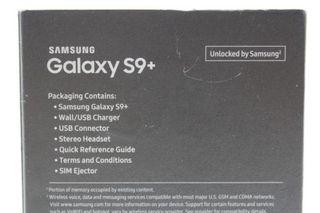 Samsung Galaxy S9+ SM-G965 - 64GB - Midnight Black