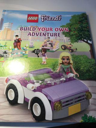 Libro niños Lego Friends