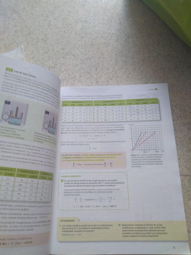 Libro Fisica y Química 1° de Bachillerato
