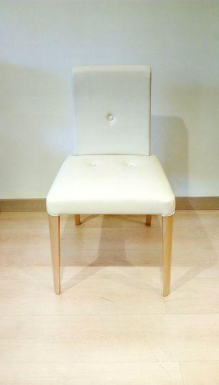 Silla tapizada confort diseño