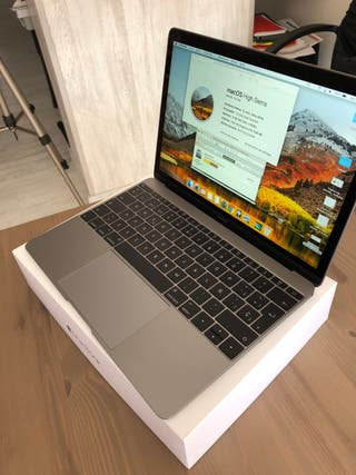 MacBook retina 12, 8gb y 500gb, 2016