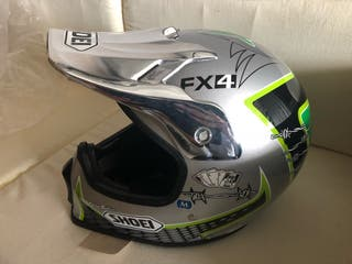 Casco cross nuevo shoei