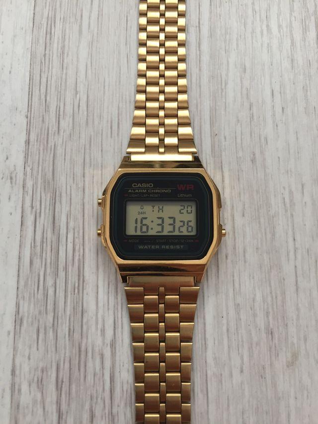 d167884d1 Reloj Casio Dorado Original de segunda mano por 25 € en Gijón en ...