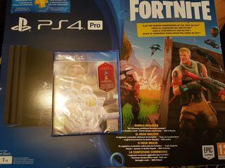 PlayStation 4 Pro Edicion Fornite NUEVA