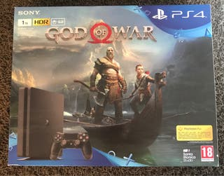 Playstation 4 1tb con God of War Pack
