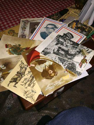 viejas postales francesas 1 guerra mundial