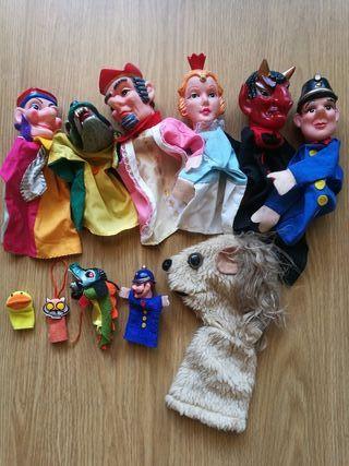 lote de marionetas