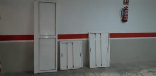 armario de aluminio, puertas correderas