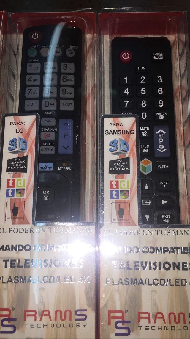 Mando Tv televisor Sony Panasonic Lg philips