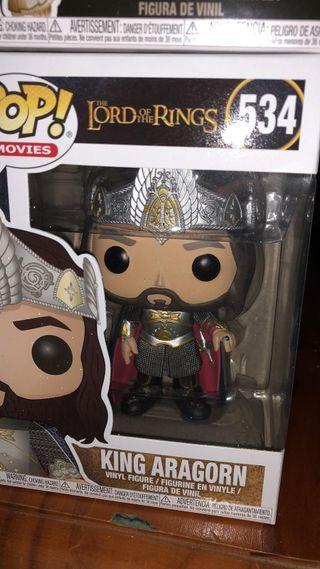 Funko pop King Aragorn