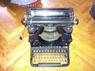 Máquina escribir antiguas Olivetti