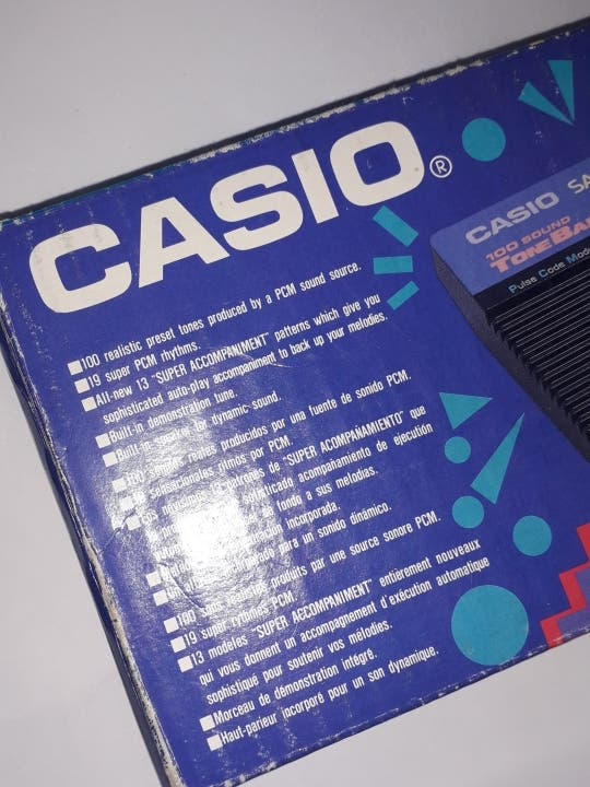 Teclado Casio SA-9