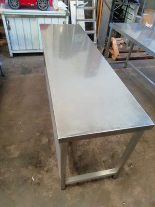banco acero hostelería mesa