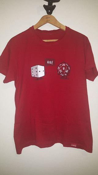 Camiseta dados friki