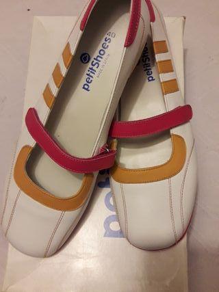 Zapatos Merceditas Petites Shoes . n 40 Nuevas